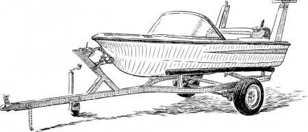 depositphotos_133207918-stock-illustration-pleasure-boat-on-a-trailer